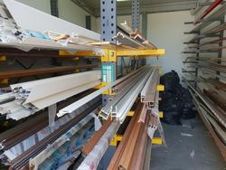Cantilever structure and Aluminium profiles - Lot 10 (Auction 4375)