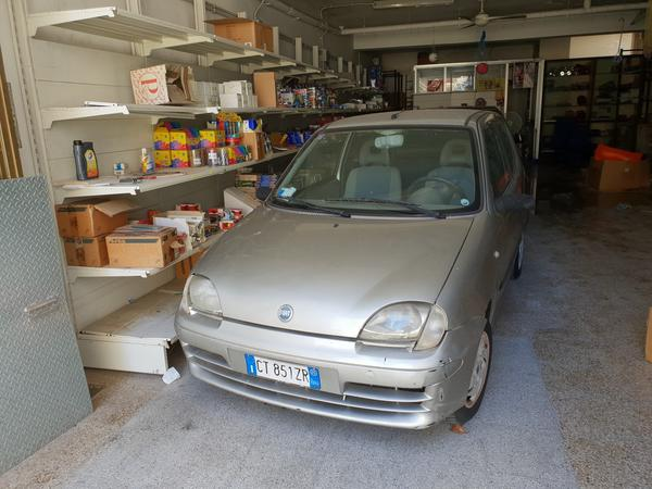 12#4385 Autovettura Fiat Seicento
