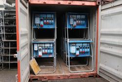 Containers and electrical panels - Lot 20207 (Auction 4390)