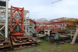 FM 13 58 crane - Lot 30080 (Auction 4392)
