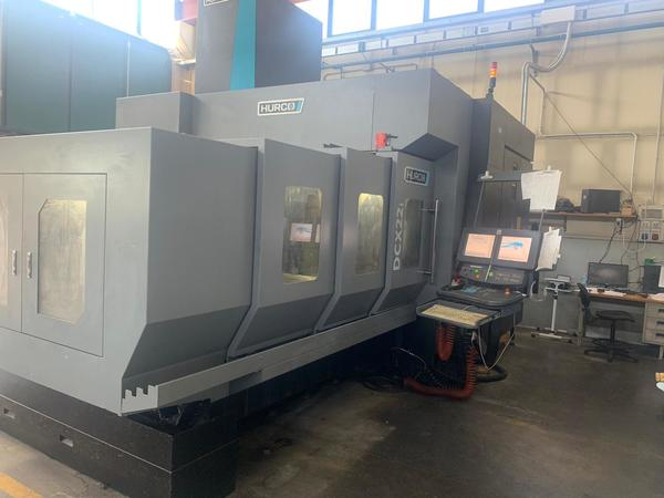 Lot Hurco DCX 22 portal and horizontal machining center