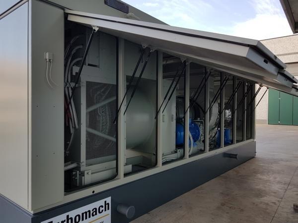 2#4409 Container con turbina Solar 50 Turbomach