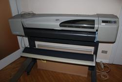 Plotter Hp Designjet and office furniture - Lot 51 (Auction 4410)