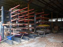 Cantilevers and shelves - Lot 7 (Auction 4410)
