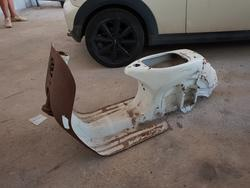 Vespa frame - Lot 2 (Auction 4413)