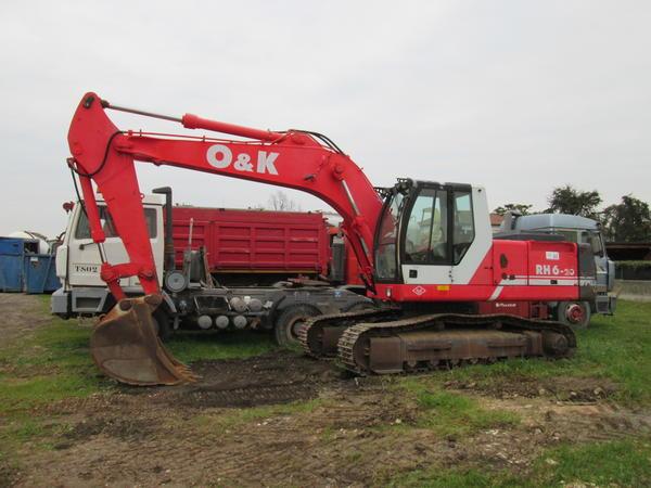 13#4419 Escavatore cingolato O&K RH6-20