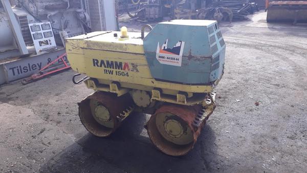 24#4419 Rullo per terre armate Rammax RW1504