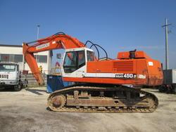 Daewoo Solar mod  450 tracked excavator - Lot 7 (Auction 4419)