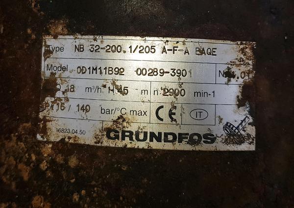 Immagine n. 6 - 32#4425 Impianto antincendio Grundfos