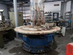 SMA shoes upper rotary injection machine and injection moulds on upper shoe - Lote  (Subasta 4442)