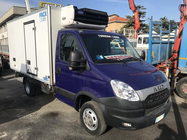 1#4444 Furgone isotermico Iveco Daily 35C21