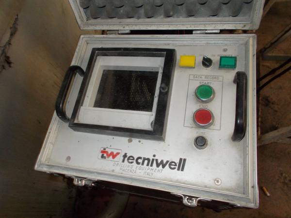 11#4445 Registratori Tecniwell Acqua Cemento