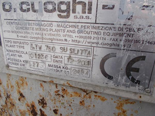 Immagine n. 6 - 6#4445 Impianto di miscelazione ed iniezione Cuoghi SRL