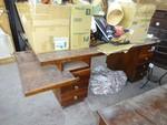 Wooden desk - Lot 5 (Auction 44530)