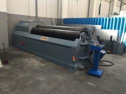 Akyapak AHS 10 14X3100  hydraulic bending roll - Lote 1 (Subasta 4457)