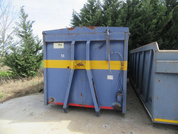 25#44740 Container scarrabile Locatelli con coperchio