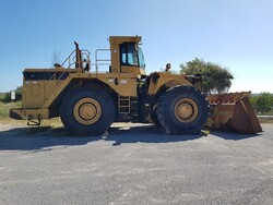 CAT wheel loader and inert crushing plant - Lot 0 (Auction 4479)