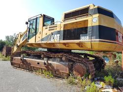 Cat crawler excavator - Lot 10 (Auction 4479)