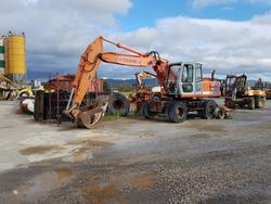 Fiat Hitachi wheel excavator - Lot 22 (Auction 4479)