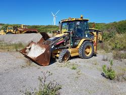 CAT wheeled backhoes - Lot 26 (Auction 4479)
