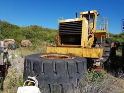CAT wheel loader and MECALAC mini excavator - Lot 30 (Auction 4479)