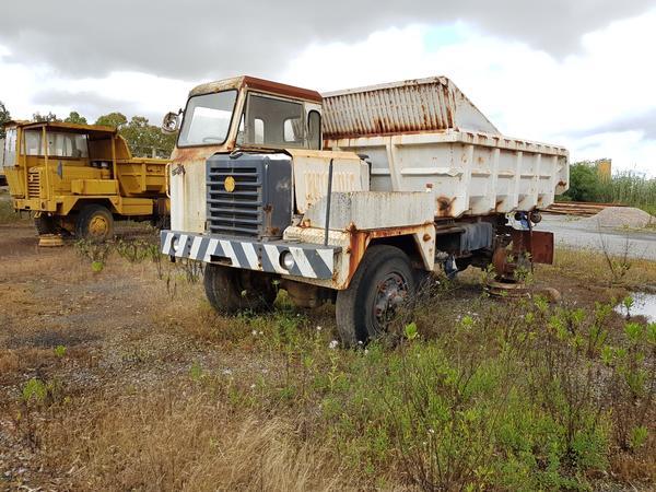 Immagine n. 4 - 54#4479 Camion da miniera Astra e autocarro Perlini