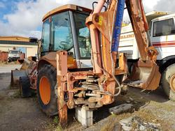 Hitachi wheeled backhoe loader - Lot 55 (Auction 4479)