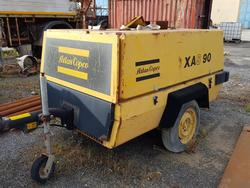 Atlas Copco compressor and Norwick column drill - Lot 58 (Auction 4479)