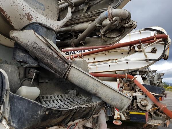 Immagine n. 7 - 61#4479 Betonpompa Iveco Trakker