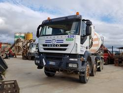 Iveco Trakker cement mixer - Lot 62 (Auction 4479)