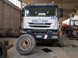 Iveco Trakker cement mixer - Lot 63 (Auction 4479)