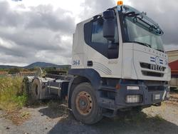 Iveco road tractor and Minerva semitrailer - Lot 64 (Auction 4479)