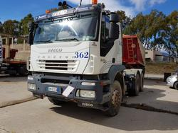 Iveco Trakker roadd tractor with Adige semi trailer - Lot 65 (Auction 4479)