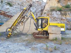 Atlas Copco rock drill - Lot 7 (Auction 4479)