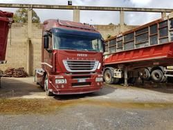 Iveco Stralis road tractor with semi trailer - Lote 70 (Subasta 4479)