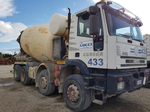 Immagine n. 1 - 75#4479 Betoniera Iveco Eurotrakker e betonpompa