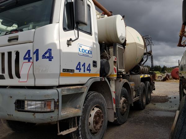 Immagine n. 4 - 75#4479 Betoniera Iveco Eurotrakker e betonpompa
