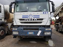 Iveco Trakker concrete mixer pump - Lot 76 (Auction 4479)