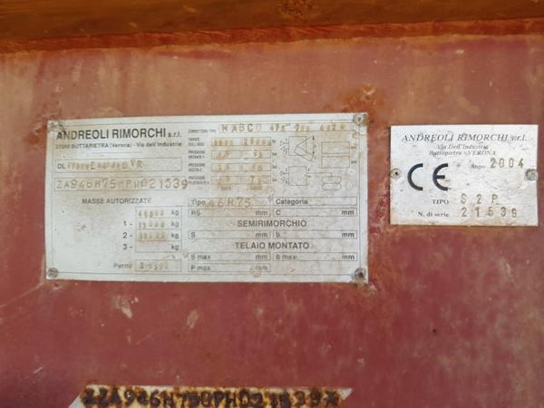 Immagine n. 13 - 80#4479 Semirimorchi Adige e Andreoli
