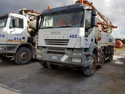 Iveco Euro Trakker concrete pump - Lot 81 (Auction 4479)