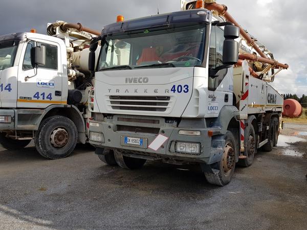 Immagine n. 1 - 81#4479 Pompa per calcestruzzo Iveco Euro Trakker