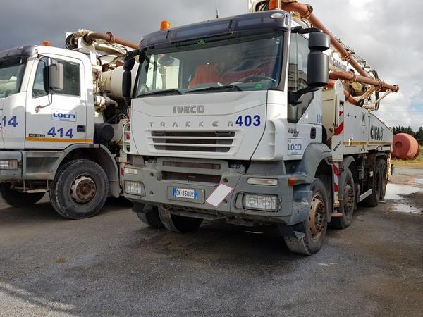 Immagine n. 2 - 81#4479 Pompa per calcestruzzo Iveco Euro Trakker