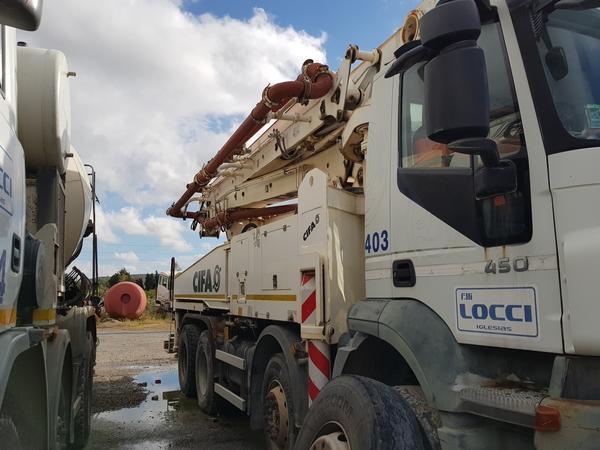 Immagine n. 19 - 81#4479 Pompa per calcestruzzo Iveco Euro Trakker