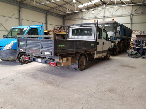 Immagine n. 13 - 83#4479 Camion Iveco Trakker e autocarro Iveco Daily