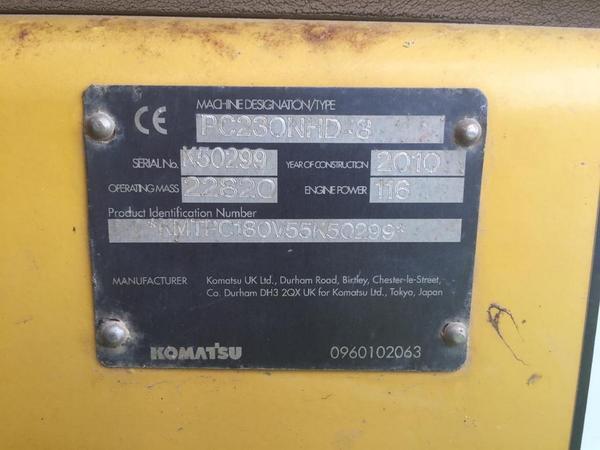 Immagine n. 2 - 88#4479 Escavatore cingolato Komatsu