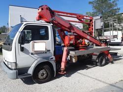 Socage Mil 18 8 truck mounted platform on Nissan Cabstar - Lot 1 (Auction 4489)