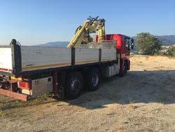 Iveco truck with tipper body and crane Copma spa - Lot 2 (Auction 4492)