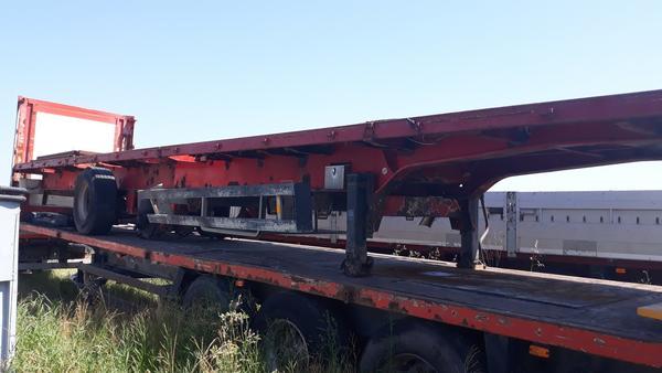 4#4497 Semirimorchio Schmitz Cargobull