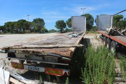 Krone semi trailer - Lot 34 (Auction 4498)