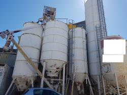 Silos for plaster and PFT pumping system - Lot 84 (Auction 4499)